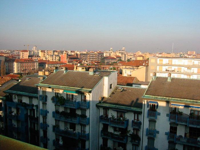 Recupero sottotetti via Salutati Milano