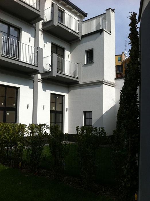Riqualificazione palazzina via Mercantini Milano